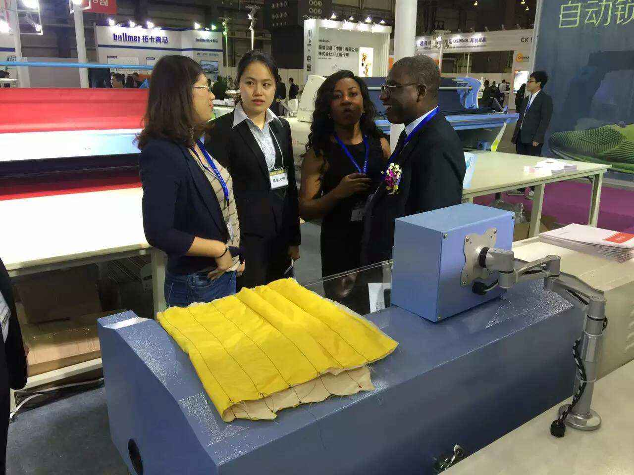 china down jacket stuffing machine - we introduce our machine to visiter.